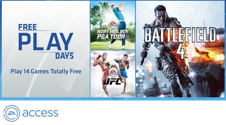 Xbox One EA Free Access