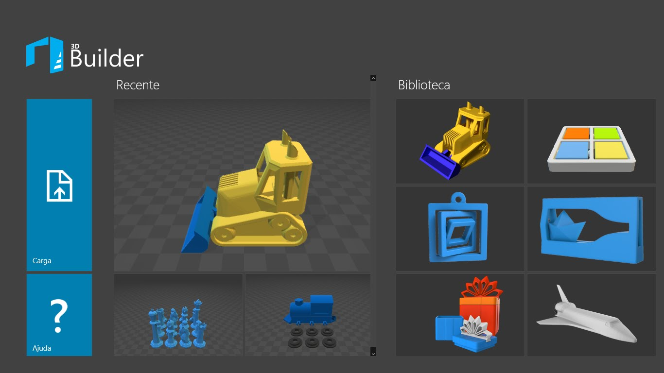 Microsoft S 3d Builder App Updated With Support For 3d