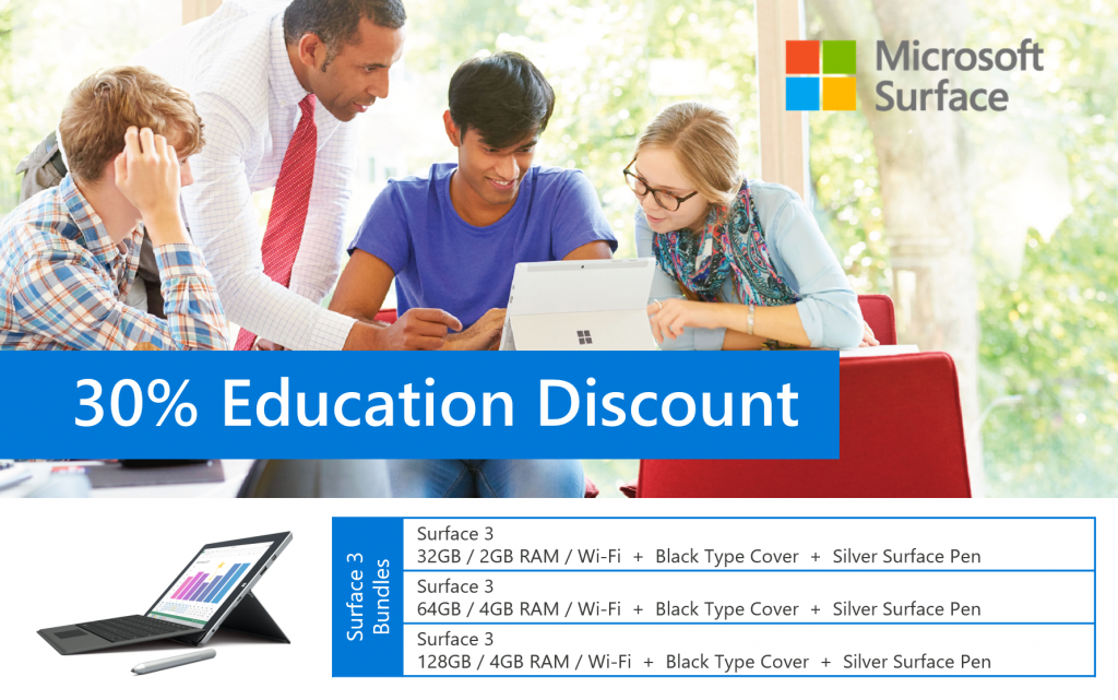 Dear Sir/Ma'm, I came to know that there is discount on Surface RT for students from the below link but there is no such offer at your website: giveback.cf
